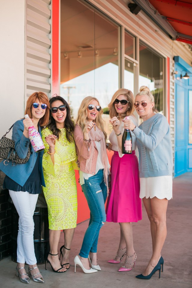 Galentine's Day, #SquadGoals, #ChandonSquad, #ChandonxOC, dallas blogger friends