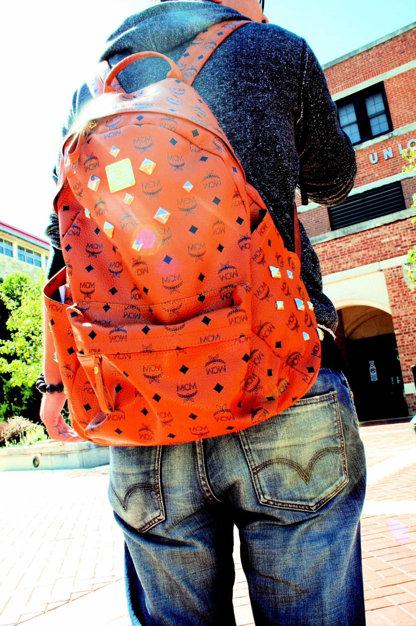 bling bling backpack.