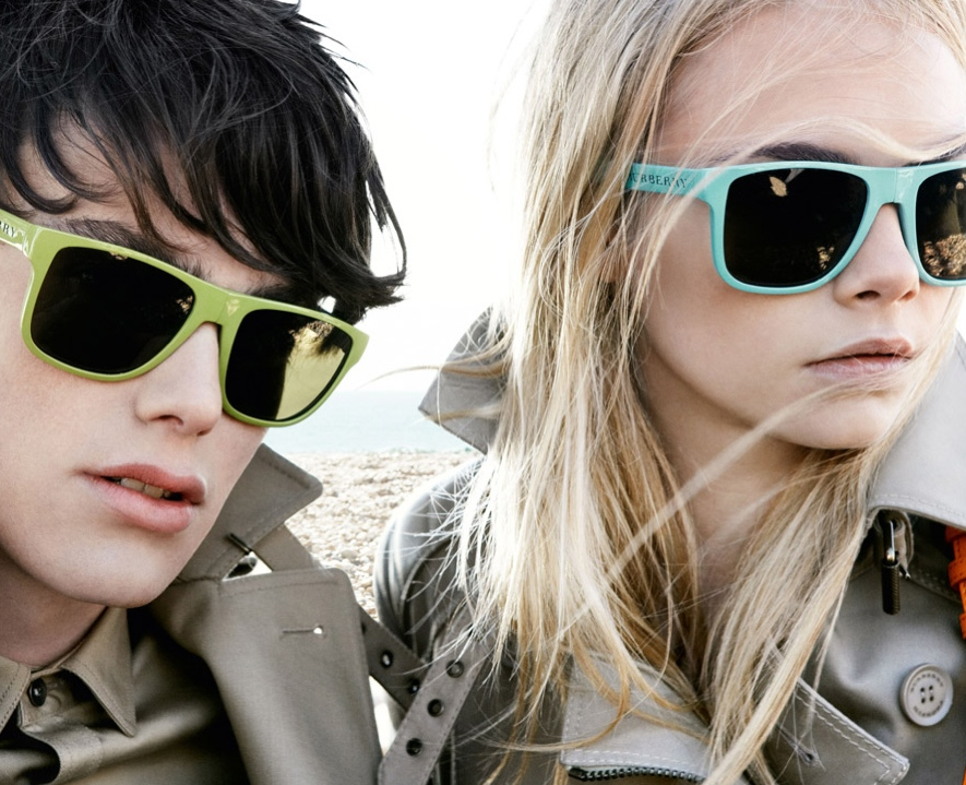 Burberry Brights Spring Summer 2011 Sunglasses Campaign 4