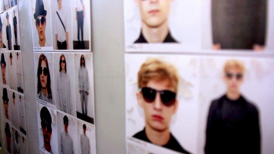 Kris Van Assche Spring Summer 2012 Backstage Look Board 2