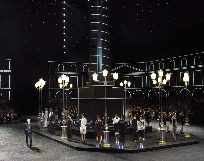 Chanel Haute Couture Fall Winter 2011 Collection at The Grand Palais 1