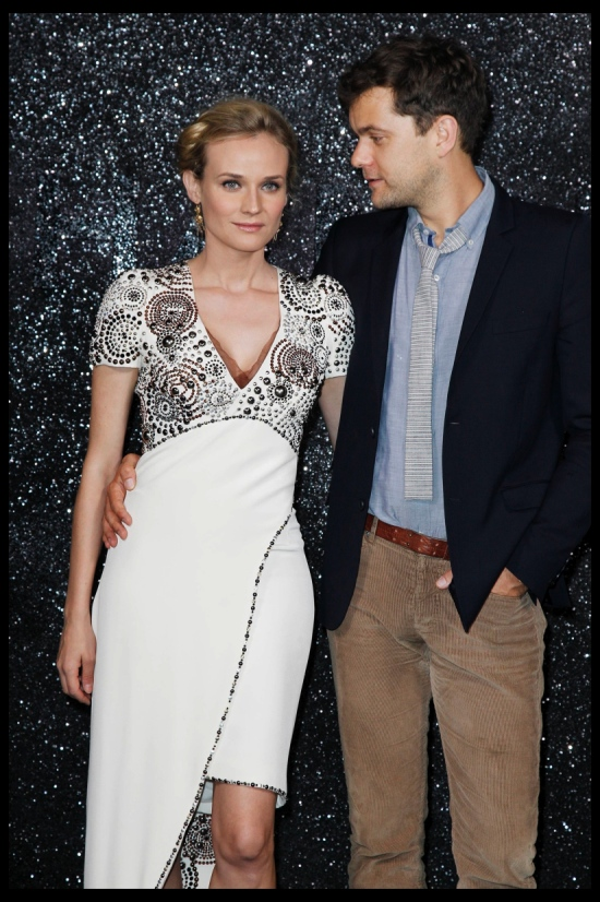 Diane Kruger and Joshua Jackson attend Chanel Haute Couture Fall Winter 2011 Collection at The Grand Palais