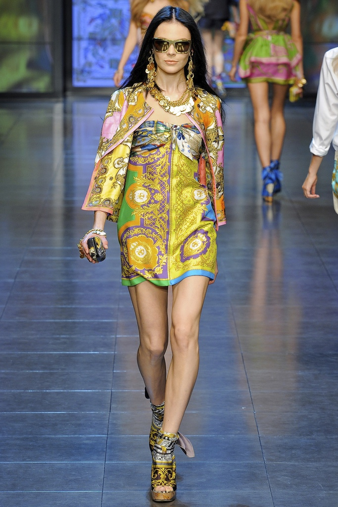 D&G Spring Summer 2012 Collection 7