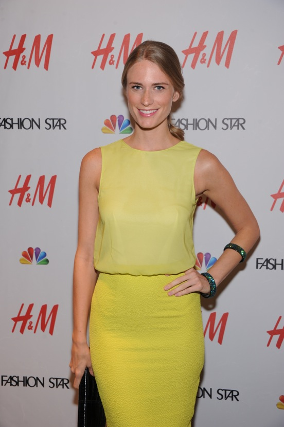 "H&M Celebrates NBC's ""Fashion Star"" Success - Red Carpet"