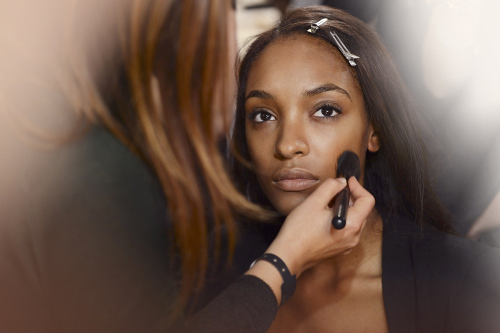 Burberry Beauty Backstage at the Burberry Prorsum Spring Summer 2013 Womenswear show 16