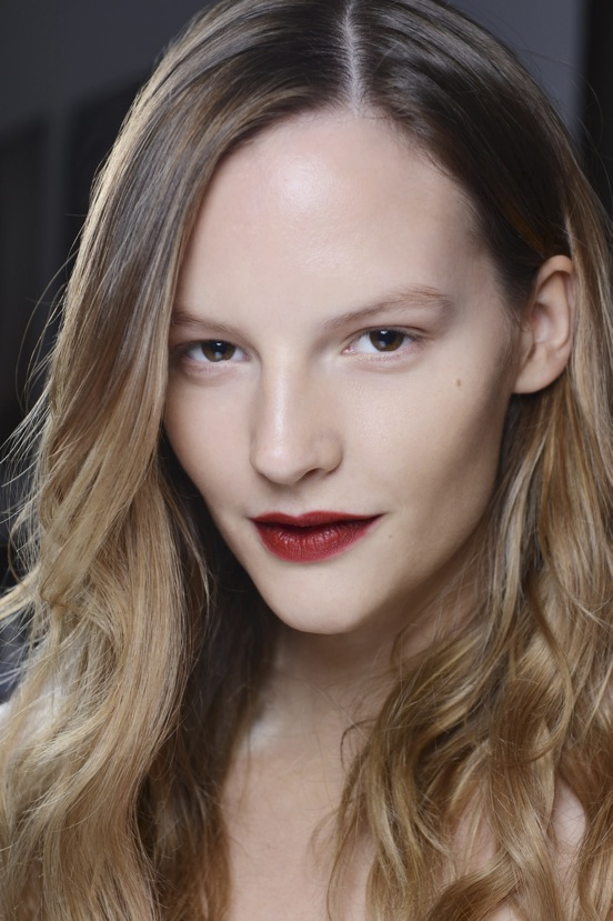 Burberry Beauty Backstage at the Burberry Prorsum Spring Summer 2013 Womenswear show 3