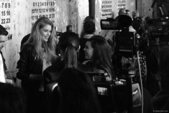 Margiela with HM New York Launch Event Doutzen Kroes