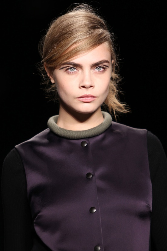 Rag and Bone Fall 2013 Backstage Beauty 1