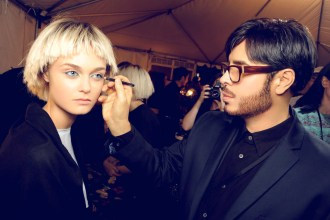 Marc Jacobs Spring Summer 2014 Backstage Beauty 3