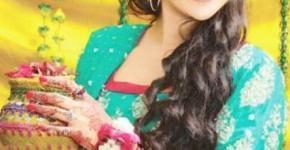 Mehndi Dresses 2012-2013