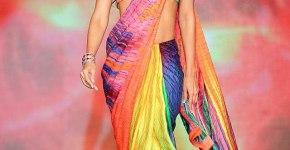 Classic Satya Paul Sarees Party Wear Traditional Saree 2013 Collection