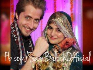 Sanam Baloch Wedding Mehndi Barat Pictures Photos Images 2013 (1)