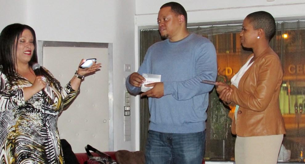 Butta, DJ Harvey Dent, and Karen, writer for Soul Bounce