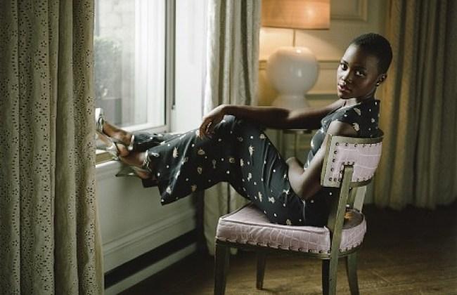 Lupita_Nyongo photographer  Lydia Goldblatt