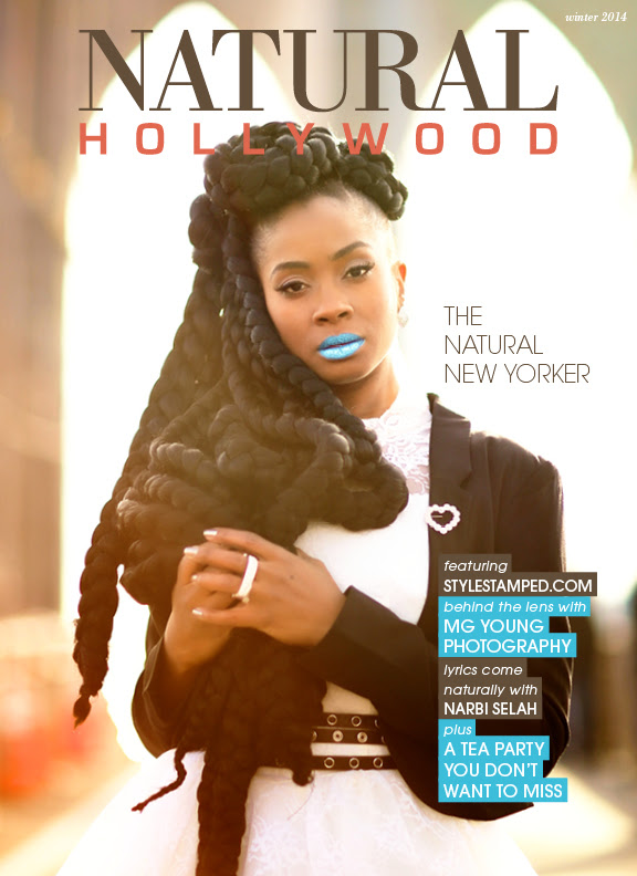 Natural Hollywood and Style Stamped cover