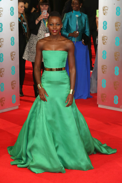 British Academy Film Awards- Lupita in Christian Dior- Photo by Chris Jackson Getty Europe