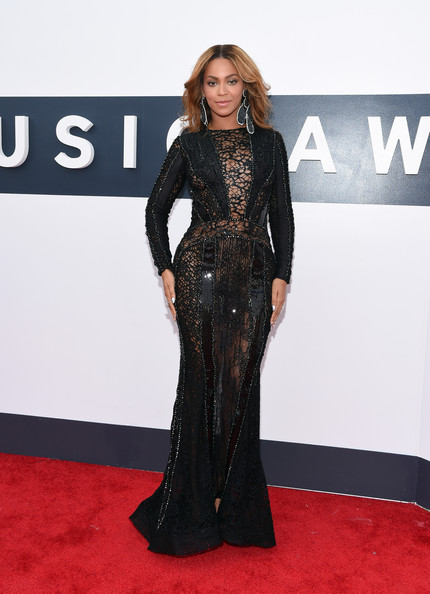 Beyonce at 2014 MTV Music Awards in Nicolas Jebran Photo: Larry Busacca/Getty