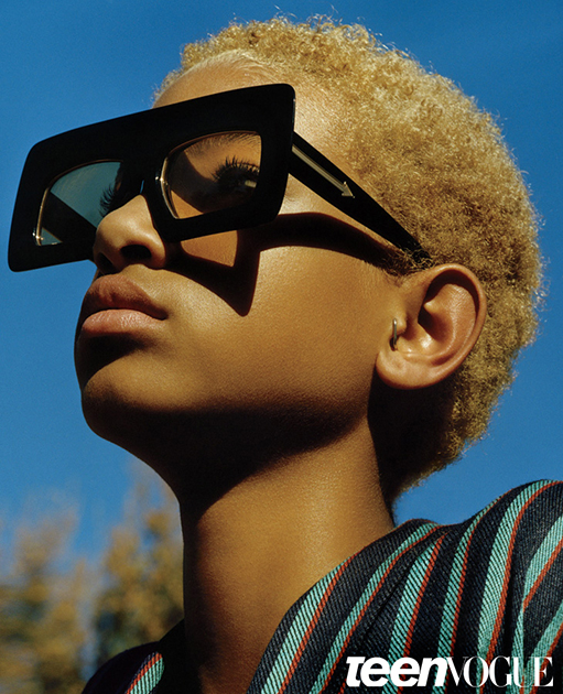 Willow Smith Featured In Teen Vogue August 14' Issue 3
