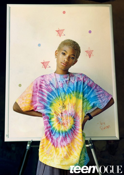 Willow Smith Featured In Teen Vogue August 14' Issue 4