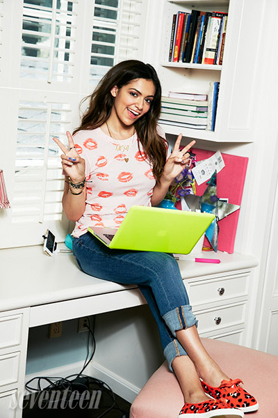 Bethany Mota Covers Seventeen Magazine for October 2014 Issue 6