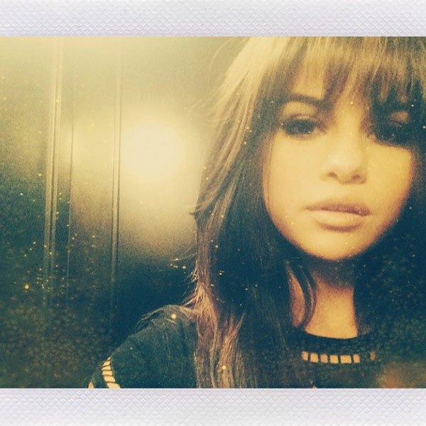 Selena Gomez Shows Off New Blunt Bangs 2