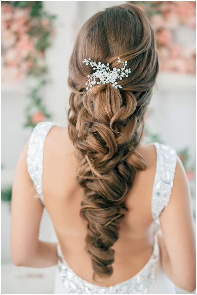 Look Below To View A Few Ideas On How You Can Rock The Famous Half Up Down Hairstyle Prom Night