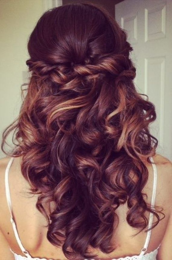 2015 Prom Hairstyles - Half Up Half Down Prom Hairstyles 3