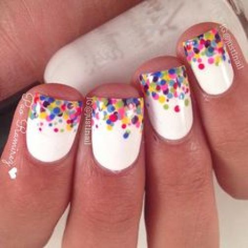 Homecoming Nail Ideas - Nail Polish Design Ideas for Homecoming 11
