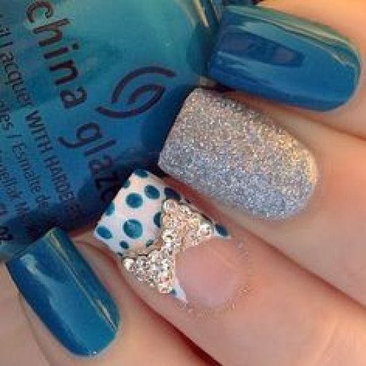 Homecoming Nail Ideas - Nail Polish Design Ideas for Homecoming 9