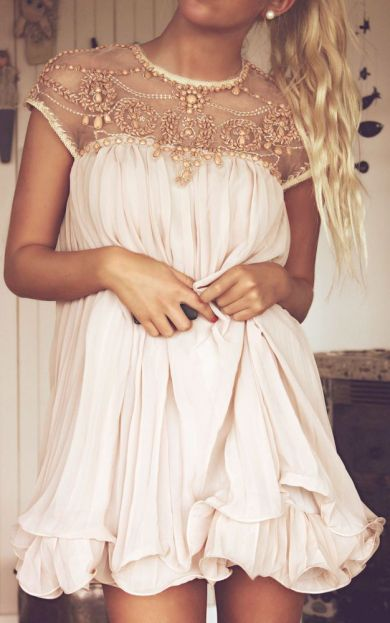 Blush and beads
