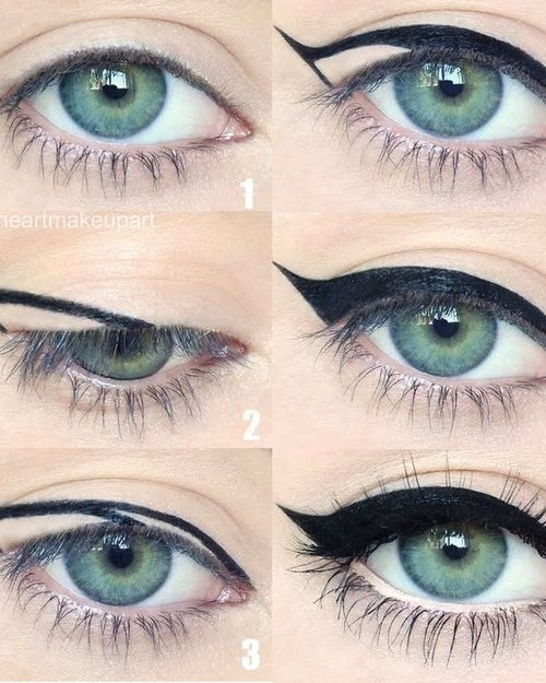 How to Get A Winged Eye Liner