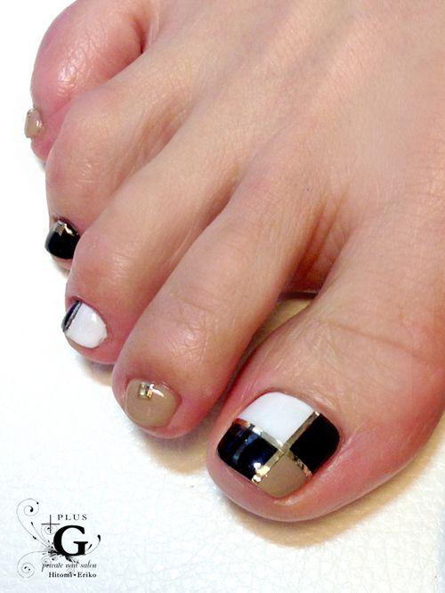 23 fashionable pedicure designs to beautify your toenails - Decoracion para foto ...