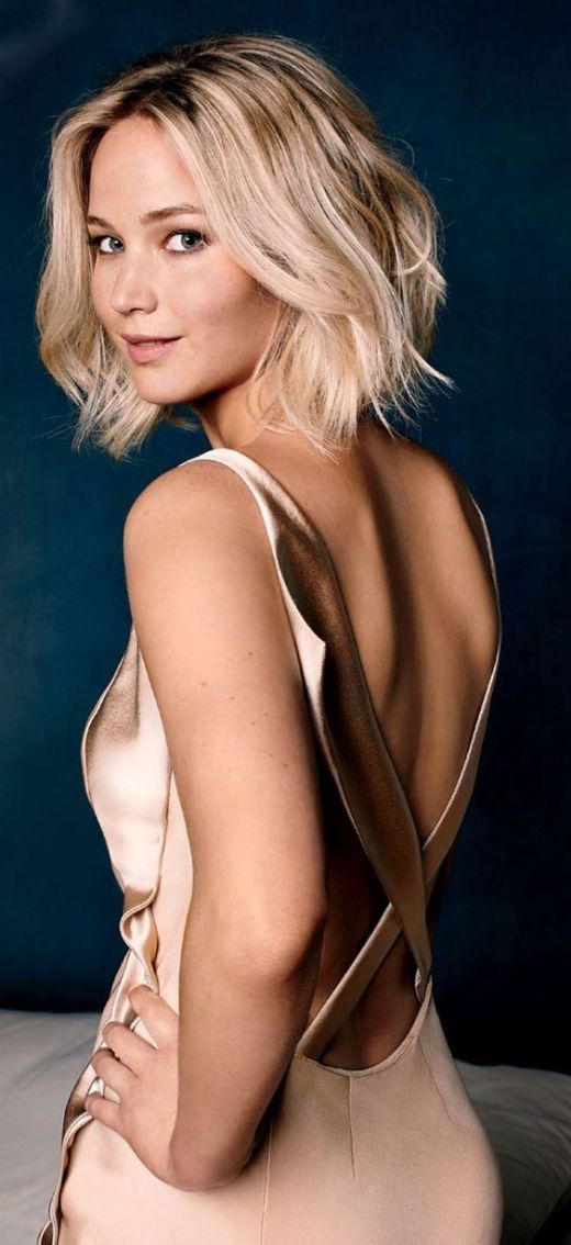 jennifer Lawrence Bob Haircut