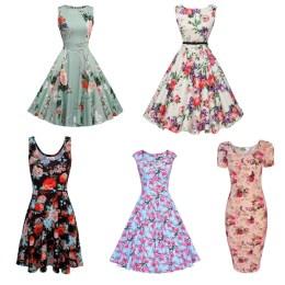 Floral-Dresses-for-summer