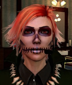 Deaths head makeup