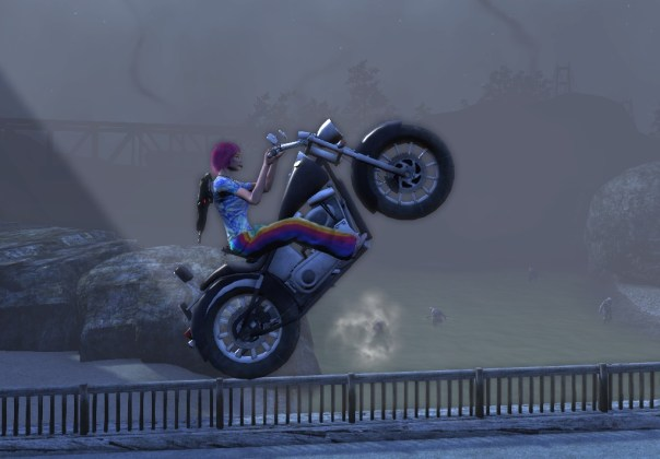 Random filler pic to break up the text (Mysericorde on her bike in TSW)