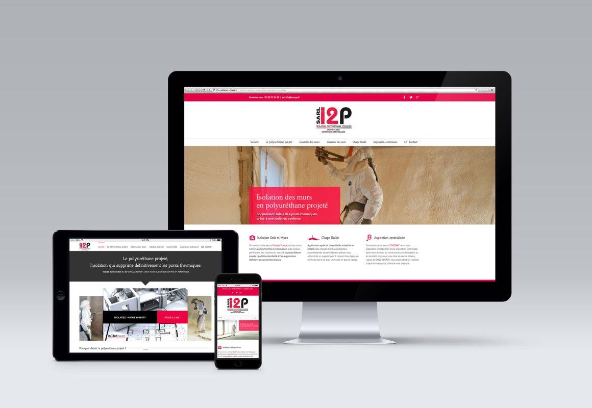 Conception site internet i2p