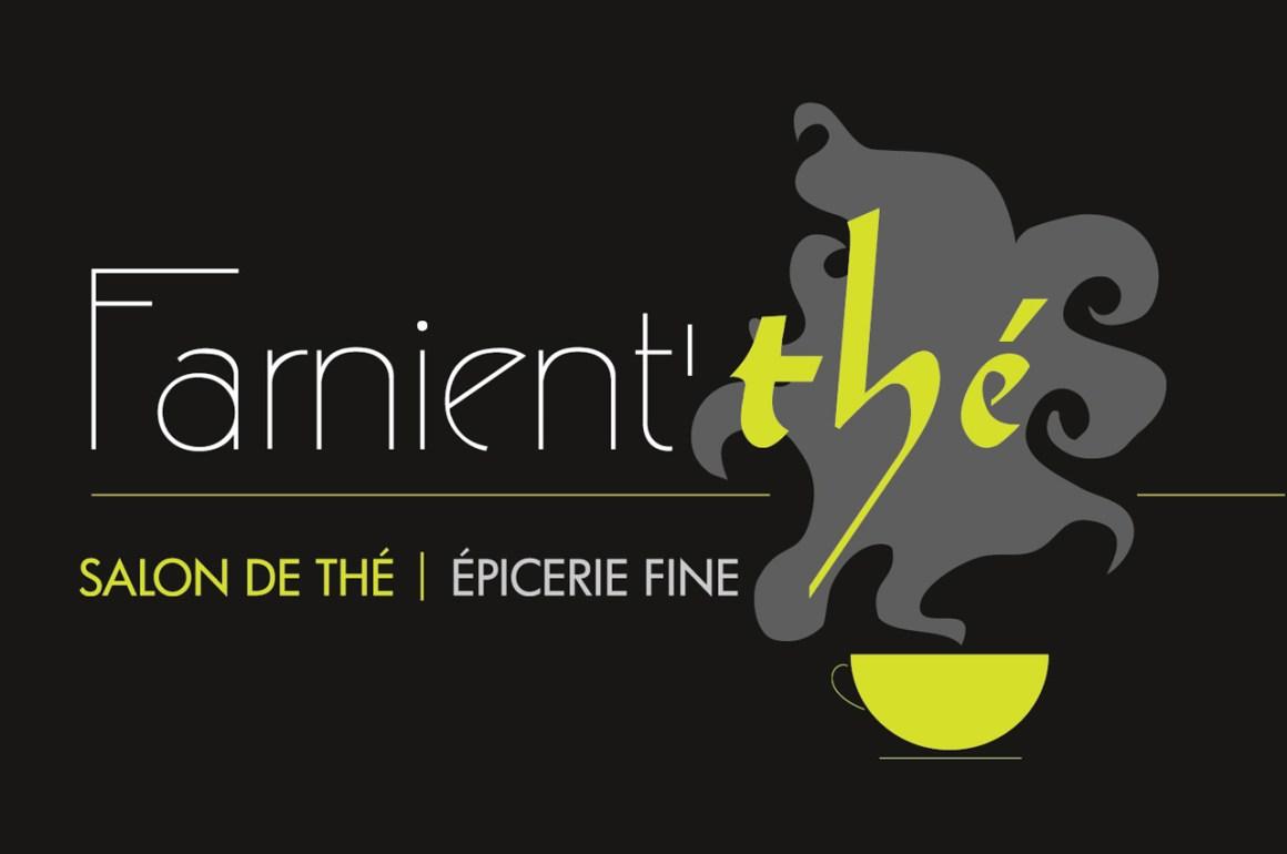 Création logotype Farnient'thé