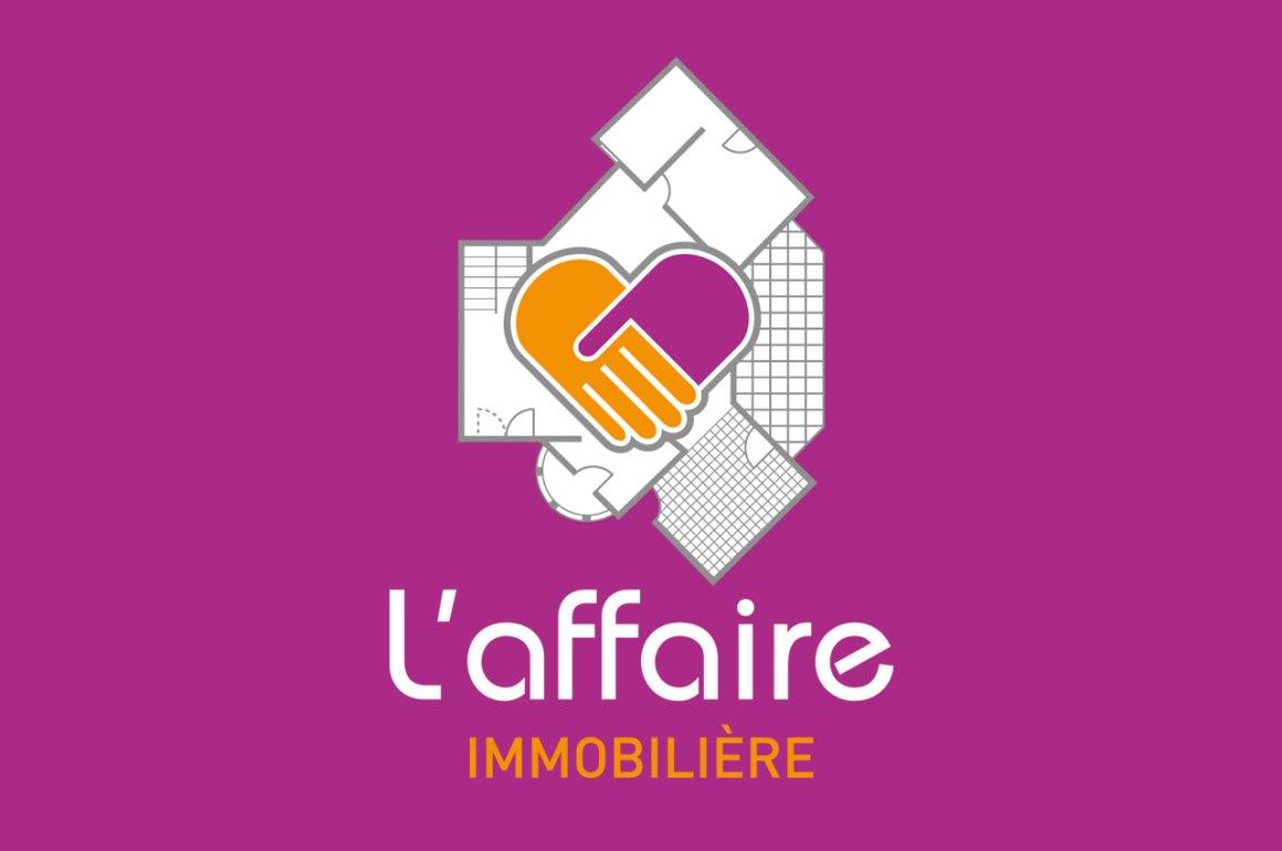 Création logotype L'affaire immobilière