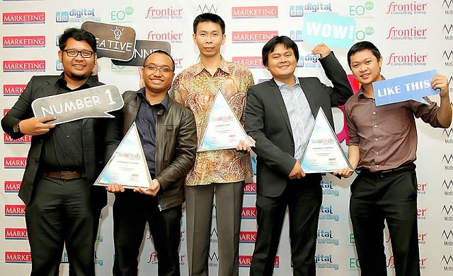 Yamaha Indonesia dianugerahi tiga penghargaan Social Media Achievement Award untuk Mio-Vixion-Jupiter