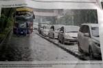 "Banjir di Mangga Dua Setinggi 30 cm, Kompas Menulisnya dengan ""Genangan"""