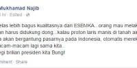 Secara Halus, Akademisi IPB Ini Menyindir Jokowi Soal Mobnas Proton