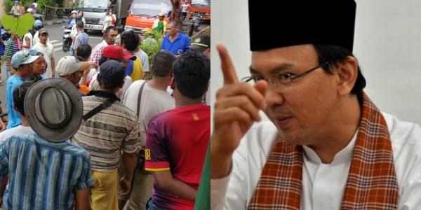 Razia Becak di Wilayah DKI Atas Perintah Gubernur DKI Ahok