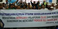 Siapkan 3 Juta KTP, Forum RT/ RW Tolak Ahok!