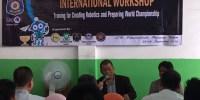 SD Muhammadiyah 4 Depok Gelar Workshop Sekaligus Lomba Robot Tingkat Internasional