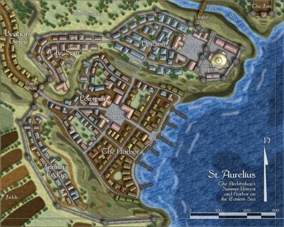 Profantasy fantasy city tiles for Campaign Cartographer