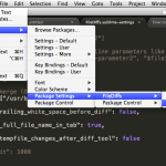 how to apply settings for FileDiffs