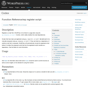 Search WordPress Codex or QueryPosts - Packages - Package Control