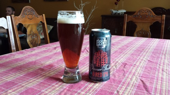 Arch Brewing Co's Dinner Jacket O'Red IPA