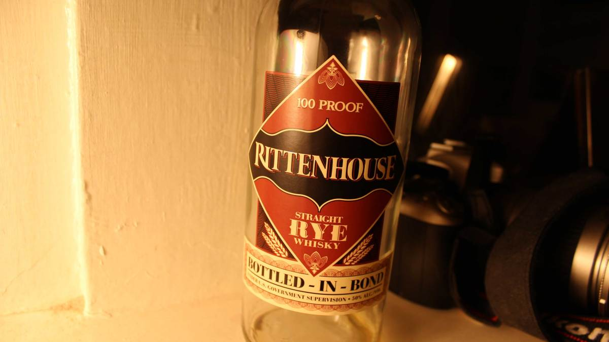 Rittenhouse Straight Rye Whiskey: Bringing Refinement to Rye
